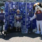 Volunteers helping raise funds for the GSPCA Animal Shelter Guernsey