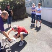 GSPCA Dog First Aid Course July 2015 in Guernsey